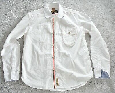 Prps Goods & Co Premium White Oxford Casual Shirt Large 44  • 49.50£