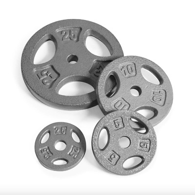 $ CDN81.94 • Buy [Pairs] 1  Standard Barbell Weight Plates *Size Varies* [Same-Day Free Shipping]