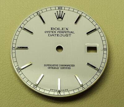 $ CDN197.73 • Buy Rolex Dial Oyster Perpetual Datejust White OBS! NOT Perfect!