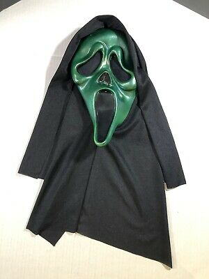 $ CDN89.99 • Buy Vintage Scream Mask Ghost Face Easter Unlimited Metallic Green Rare