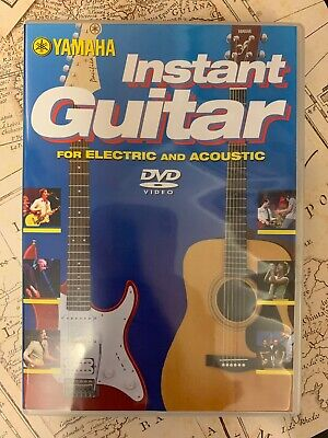 Yamaha Instant Guitar For Electric And Acoustic DVD Video • 7.99£