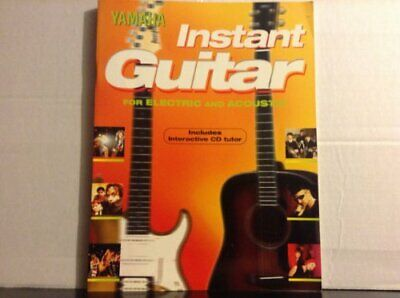 Yamaha Instant Guitar For Electric And Acoustic: Includes Interactive CD Tutor,  • 3.29£