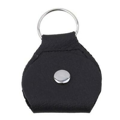 $ CDN10.55 • Buy Hot Sell Guitar Pick Holder PU Leather Plectrum Case Bag Keychain Black
