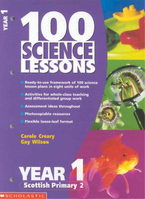 100 Science Lessons For Year 1, Carole Creary, Gay Wilson, Used; Good Book • 3.49£