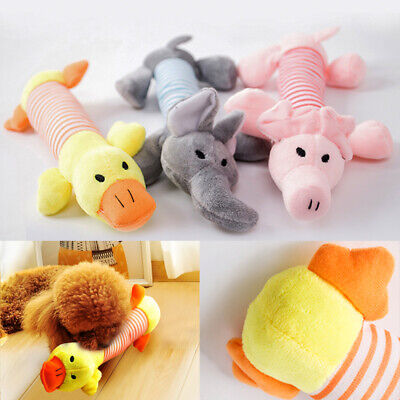 Pet Funny Toys Pet Puppy Chew Playing Squeaker Squeaky Plush Sound Dog Toy • 2.76£