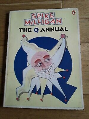 Spike Milligan The Q Annual Paperback Book Penguin  • 0.99£