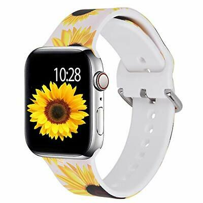 $ CDN17.56 • Buy Apple Watch 38mm 40mm Sunflower Replacement Band For IWatch Series 5 4 3 2 1