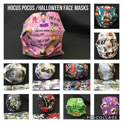 Hocus Pocus/Halloween, Gothic, Sexy Witches, Horror, Washable Face Mask/covering • 6.49£