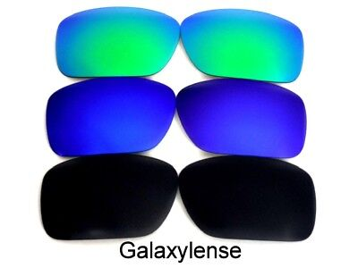 Galaxy Replacement Lenses For Oakley Ten-X Sunglasses Black&Blue&Green • 12.50£
