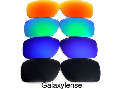 Galaxy Replacement Lenses For Oakley Ten-X Black&Blue&Green&Red Polarized 4Pairs • 15.45£