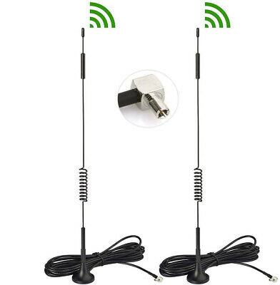 AU13.60 • Buy 2pcs For HUAWEI B818 B818-263 Router 4G 3G TS9 ANTENNA External Magnetic Antenna