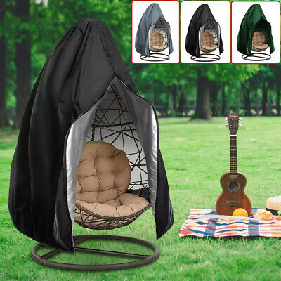 Swing Chair Cover Hanging Hammock Stand Egg Wicker Seat Outdoor Furniture Cover • 15.89£