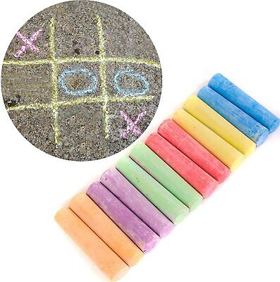 Kids Cre8  12 Pavement Chalk Pack - Assorted Colour Pack - Chunky/jumbo • 4.80£