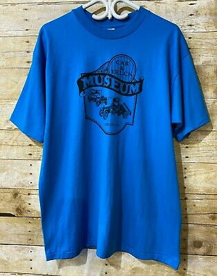 $ CDN39.99 • Buy Vintage Car & Truck Museum Curlew WA. Men's T-Shirt Single Stitched Hanes 50/50