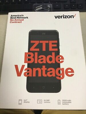 $32.29 • Buy Verizon ZTE Blade Vantage Prepaid Phone