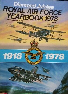 $5.99 • Buy Diamond Jubilee Royal Air Force YearBook 1918 - 1978 UK Military Aircraft