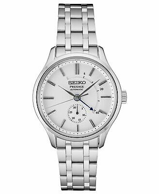 $ CDN642.21 • Buy  Seiko Men's Presage Automatic Silver Dial Stainless Steel Dress Watch SSA395