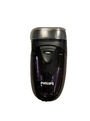 Philips Pq203 Electric Battery Travel Razor Handheld Dry Shave Twin Head Float • 18.63£