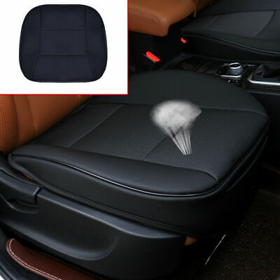 $ CDN26.67 • Buy Black Car PU Leather 3D Full Surround Front Seat Cover Protector Chair Cushion