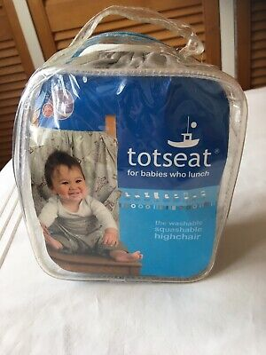 Totseat Portable Washable Fabric Highchair • 8£