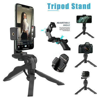 360° Adjustable Tripod Desktop Stand Desk Holder Stabilizer For Phone / Camera • 8.27£