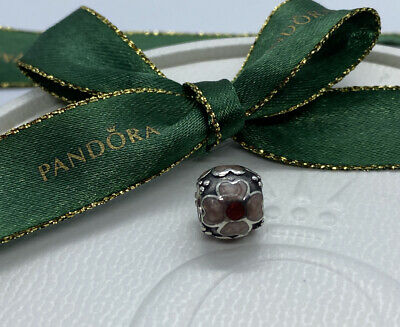 AU28 • Buy Pandora Sterling Silver Pink & Red Enamel Daisy Charm 790433ER Ale Authentic 925
