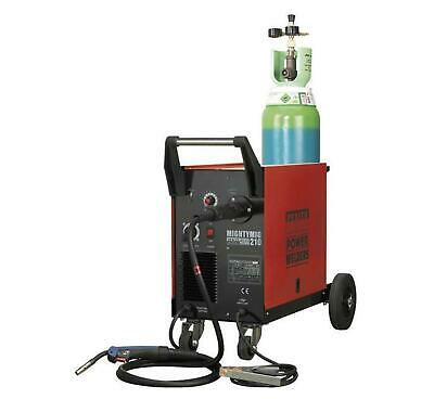 Sealey Professional Gas/No-Gas MIG Welder 210Amp With Euro Torch Garage Tools • 529.95£