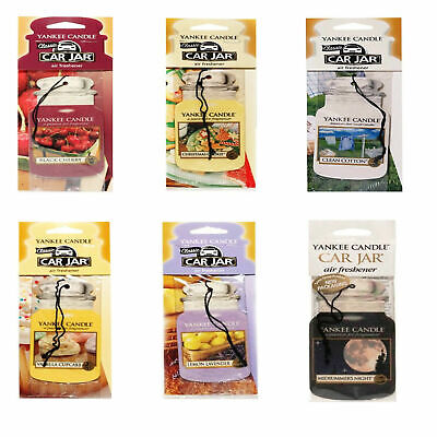 3 Mix 2D Yankee Candle Freshner Car Taxi Van Lorry Air Freshener (assorted) • 6.90£
