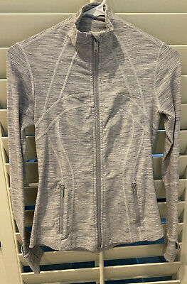 $ CDN17.84 • Buy Lululemon Gray Define Jacket Wee Are In Space Grey Gray Size 4 Thumbholes