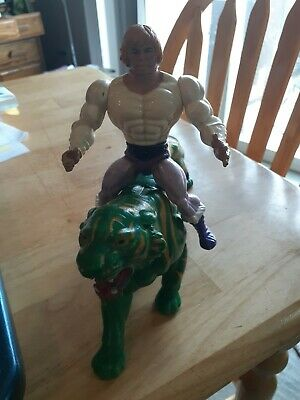 $15.40 • Buy Vintage He Man Masters Of The Universe Figure And Battle Cat Lot