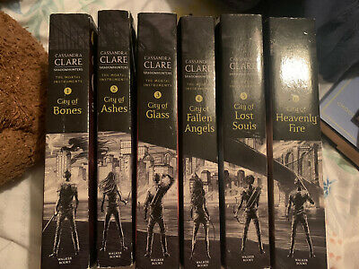 The Mortal Instruments Series: Six Books By Cassandra Clare (Paperback):2/6 Read • 10£