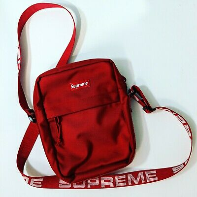 $ CDN221.58 • Buy Supreme Shoulder Bag Red Excellent Condition (SS18) Rare