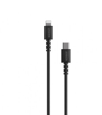 AU10 • Buy Anker PowerLine Select USB-C To Lightning 0.8m Black Charging Cable
