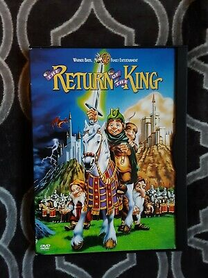 $10.99 • Buy The Return Of The King Dvd - 1980 Animation - Rankin Bass Film - J.r.r. Tolkien