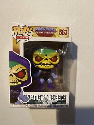 $16.50 • Buy Funko POP! Masters Of The Universe Battle Armor Skeletor Vinyl Figure 563
