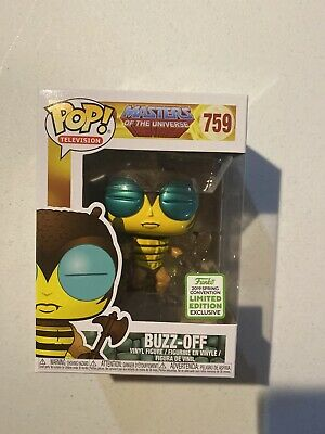 $16.50 • Buy Funko Pop! Buzz-Off Masters Of The Universe 2019 Spring Convention ECCC FYE #759