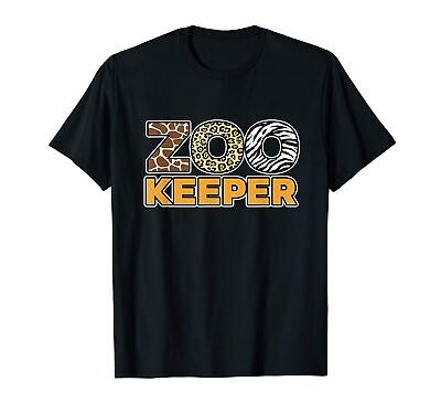 $ CDN26.23 • Buy Zookeeper African Savanna T-Shirt Vintage Gift For Men Women Funny Tee