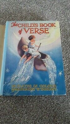 Vintage The Childs Book Of Verse Illustrated By Margaret W. Tarrant  • 12.99£