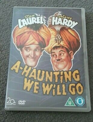 Laurel And Hardy Dvd - A Haunting We Will Go • 4.99£