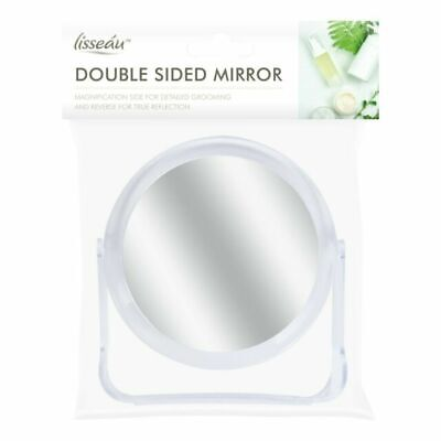 £5.49 • Buy Double Sided Mirror Cosmetic Small Magnify Travel Make Up Shaving