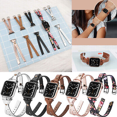 $ CDN18.44 • Buy For Apple Watch Leather Band Strap IWatch Women Series 5/4/3/2 38mm 40mm 42/44mm