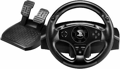 Thrustmaster T80 Racing Wheel (PS4 / PS3) Racing Simulator Steering Wheel Pedals • 64.99£
