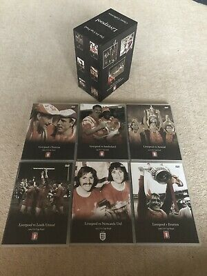 Liverpool The FA Cup Final 6 Dvd Box Set Classic Collection • 26.90£