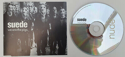 SUEDE - We Are The Pigs - 1994 UK Nude Records 3-trk CD  – NUD 10CD • 4£