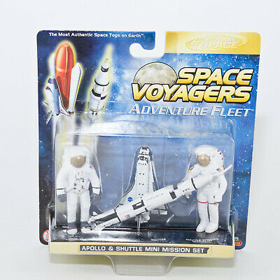 2005 Space Voyagers ~ Apollo & Shuttle Space NASA Toys ~ NEW • 9.99£