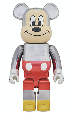 $3400 • Buy IN HAND Disney Medicom Be@rbrick Mickey Mouse 90th D23 Fragment Bearbrick 1000%