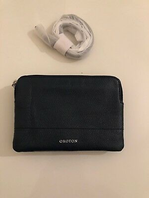 AU56.55 • Buy Oroton Bueno Double Clutch Cross Body Navy RRP $295