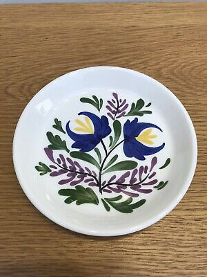 Portmeirion Welsh Dresser Pattern Small Round Floral Flower Pin Dish • 4£