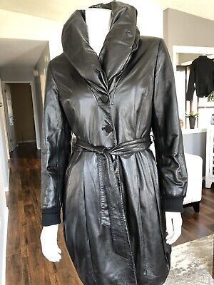 $ CDN99 • Buy Danier Italian Leather Coat Small