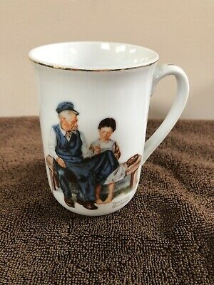 $ CDN7.91 • Buy Norman Rockwell Vintage 1982 The Lighthouse Keepers Daughter Coffee Cup/Mug/Tea